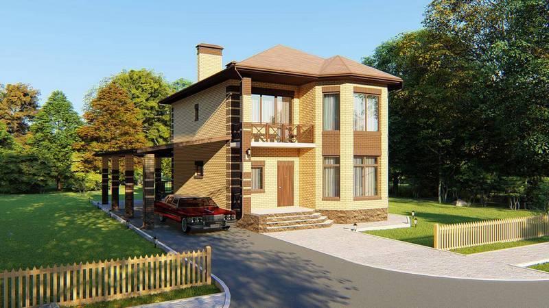 Проекты домов с верандой и террасой: виды и особенности