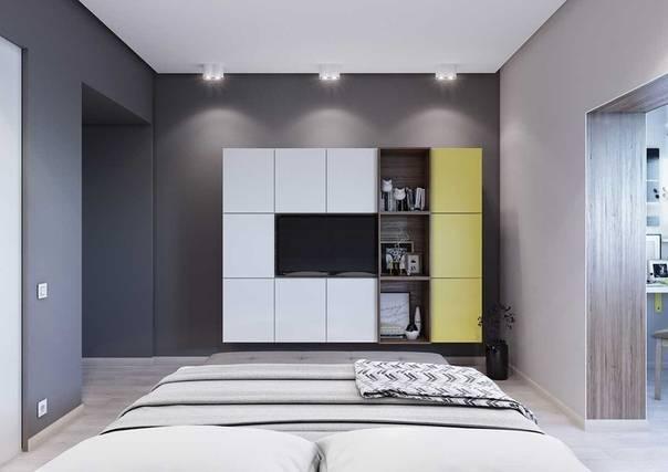 Тонкости дизайна спальни на 12 квадратов