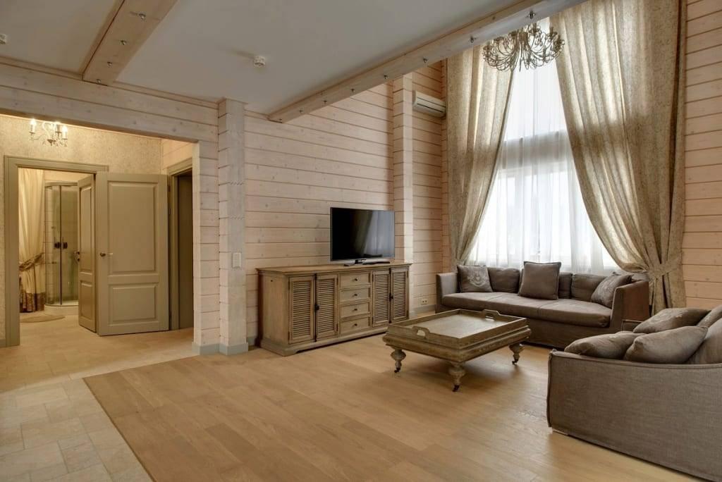 Гостиная в деревянном доме (69 фото): варианты дизайна интерьера дачной гостиной. как оформить зал на даче просто и со вкусом?