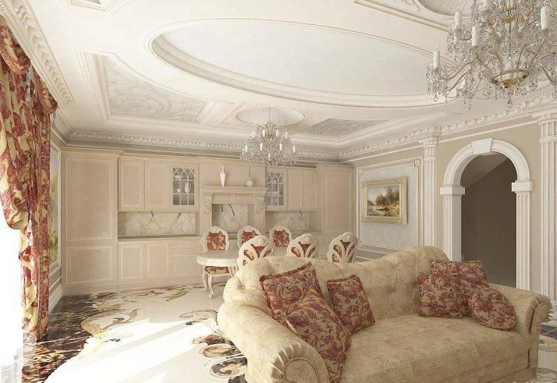 Интерьер квартиры в классическом стиле, жк «1147», 95 кв.м.