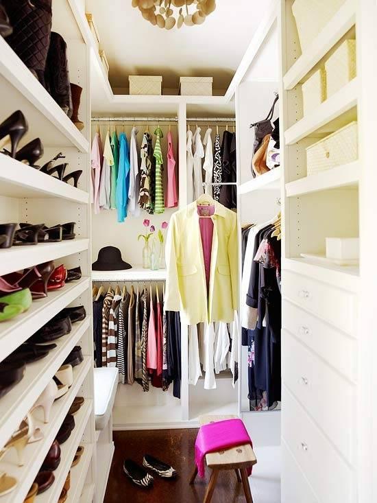 10 лучших идей гардеробных в маленькой спальне - с фото примерами