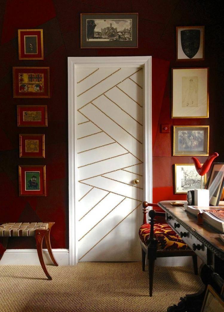 55 идей декора двери своими руками: фото, советы, мастер-классы - «декор» » «дизайна интерьера»