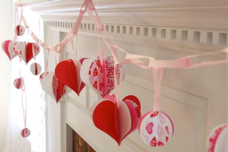 Открытки к 14 февраля своими руками: 100 идей, как сделать валентинки из бумаги