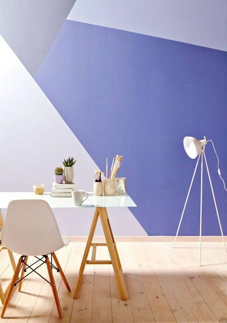 Идеи покраски стен в разные цвета для современного дизайна: 50 фото
