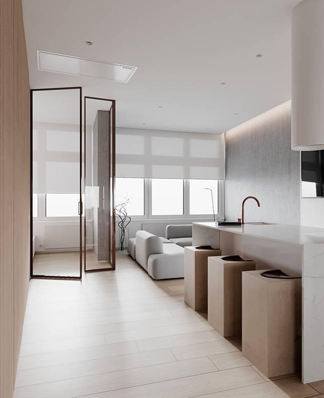 Минимализм в интерьере квартиры: 60 фото-примеров для уюта