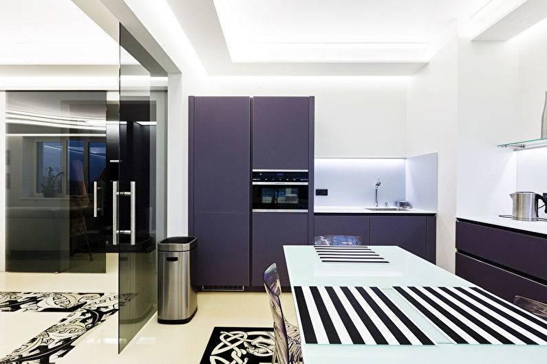 Кухня в стиле хай-тек, особенности и тонкости воплощения данного стиля в жизнь