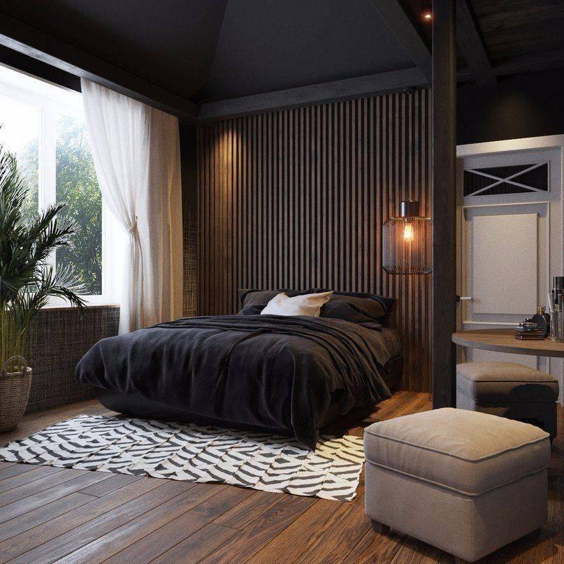 Большая спальня - 100 фото современных дизайнерских решений
