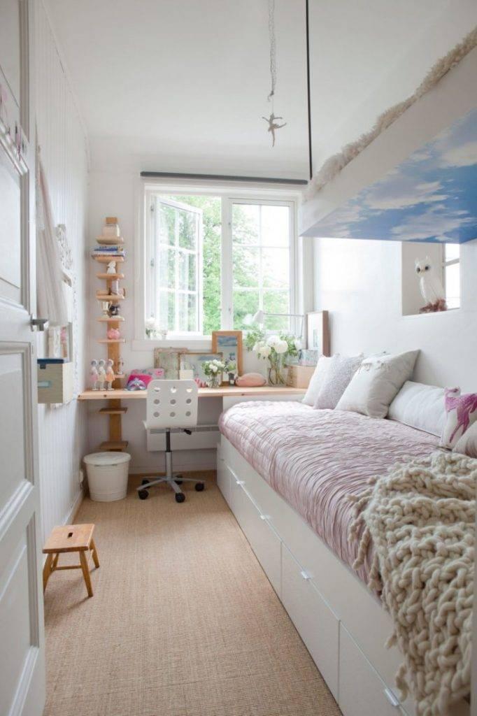 Узкая комната с окном в конце: идеи дизайна и советы по обустройству