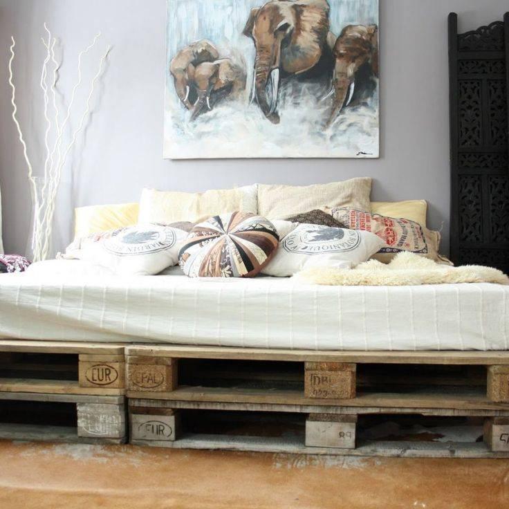 Мебель из поддонов своими руками — пошаговое описание и рекомендации как сделать красивую и качественную мебель