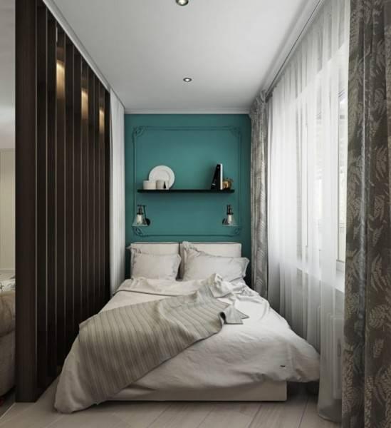 Дизайн спальни 15 кв. м в современном стиле: фото, с гардеробной, с балконом (идеи)