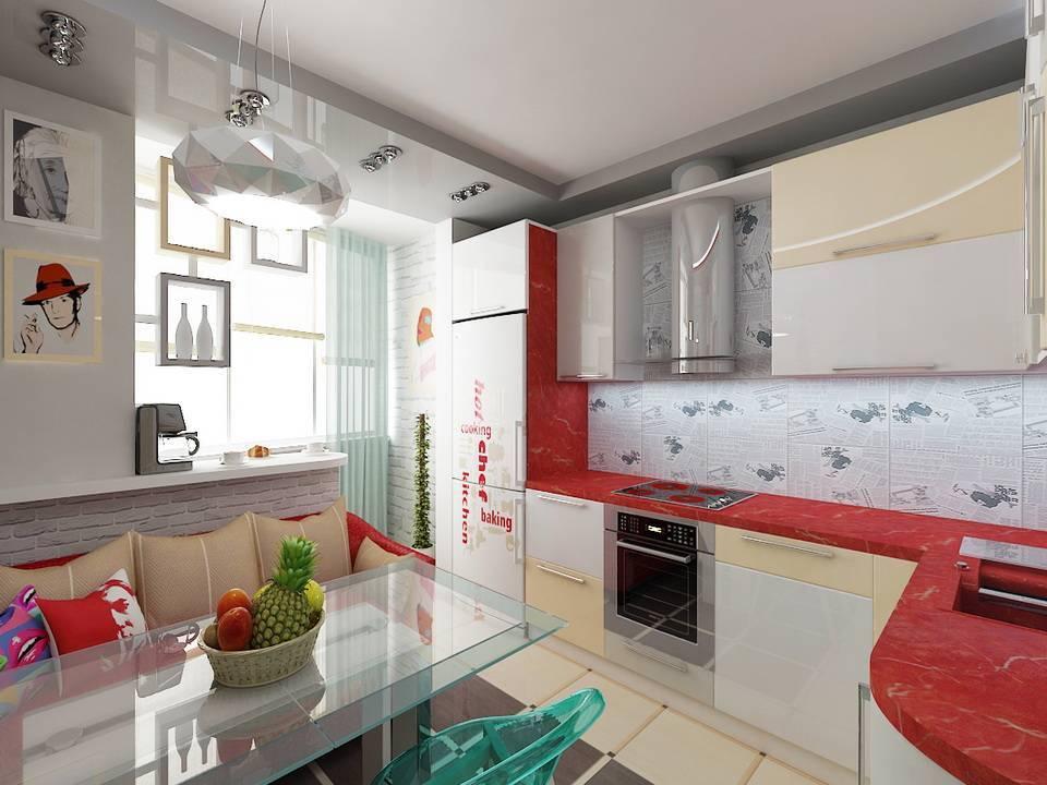 Дизайн кухни площадью 25-30 кв. м