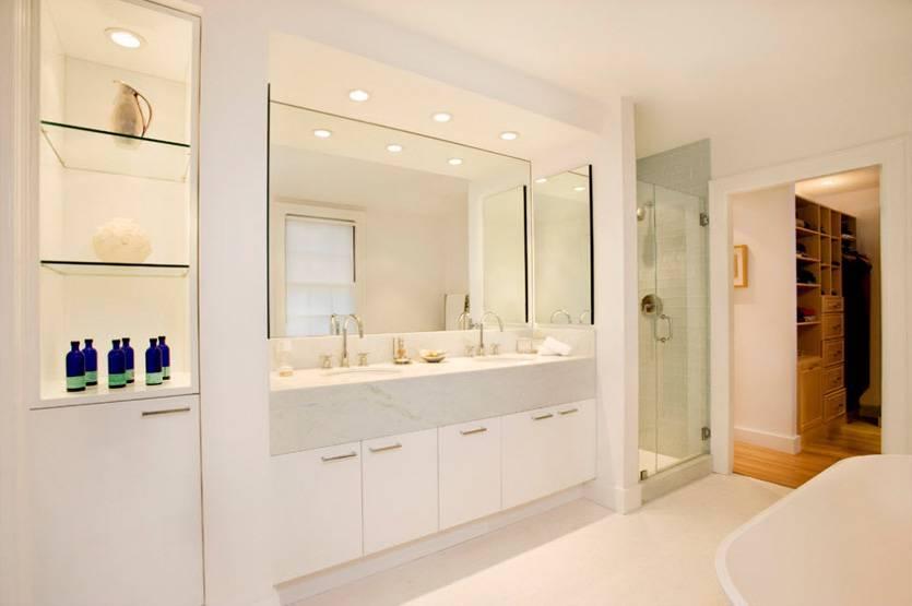 Шкафы в ванную (96 фото): встроенные и шкафы-купе, пластиковые и модели из гипсокартона. на какой высоте вешать шкафчик над раковиной?