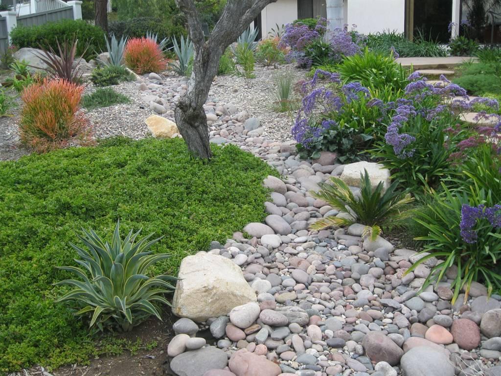 Сухой ручей в ландшафтном дизайне: фото-примеры, пошаговая инструкция своими руками