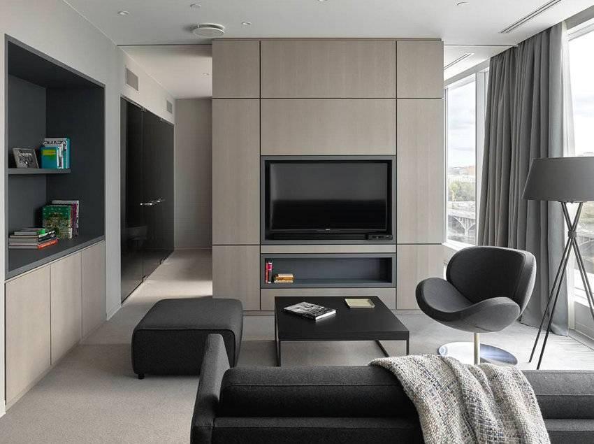 Современный дизайн однокомнатной квартиры 30-40 кв.м: фото и советы профессионалов
