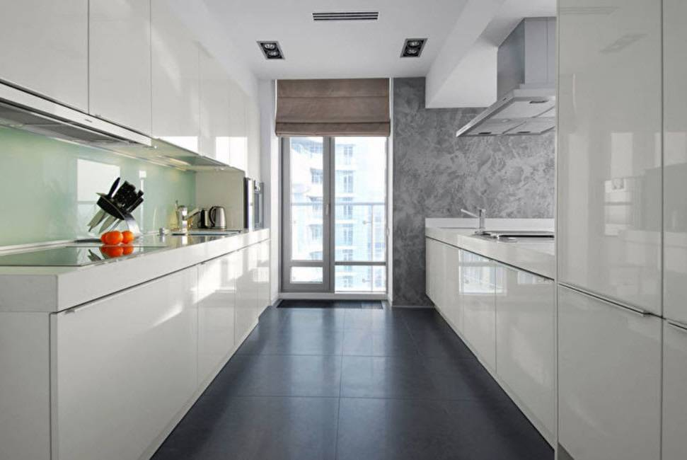 Кухня в стиле хай-тек (62 фото): дизайн интерьера белой кухни в современной квартире, а также черно-белой, серой и их сочетаний, кухонный гарнитур в стиле hi-tech, описание и выбор мебели