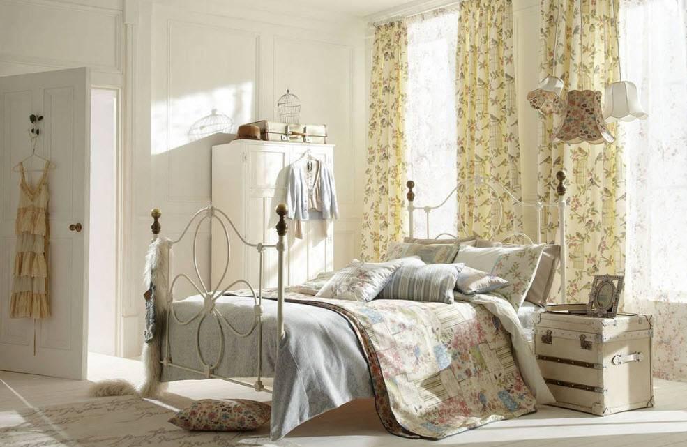 Спальня прованс: 130 фото с характерными чертами и дизайнерским подходом