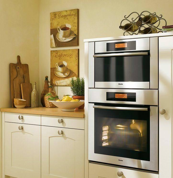 Маленькие кухни с холодильником (120+ фото) - как разместить?