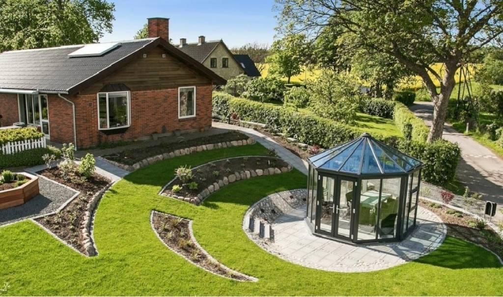 План размещения дома на участке 5 соток. садовый ландшафтный дизайн своими руками для маленького дачного участка — идеи и фото внутреннего дворика