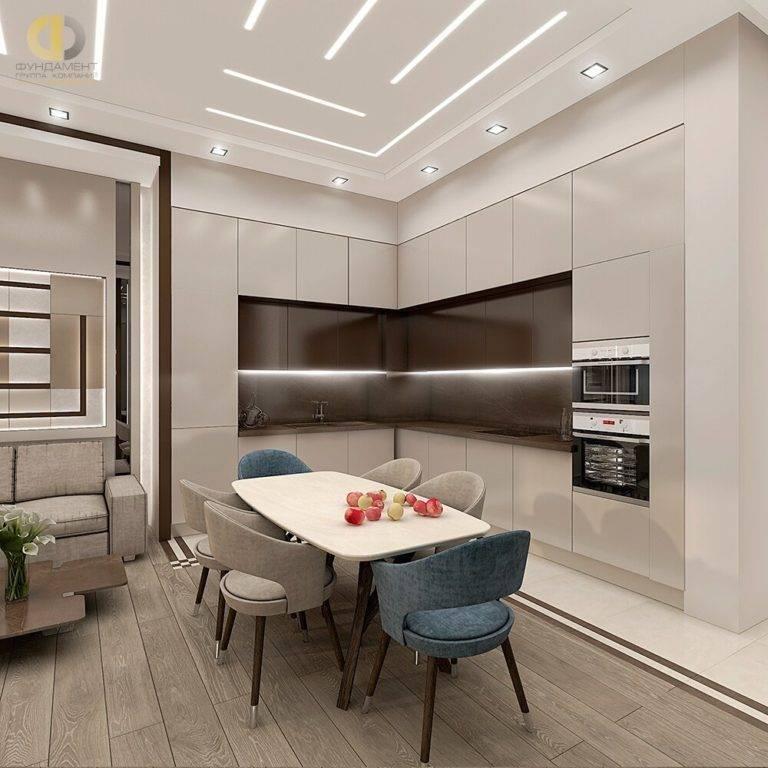 Дизайн кухни гостиной 15 кв м фото с зонированием — фото интерьеров