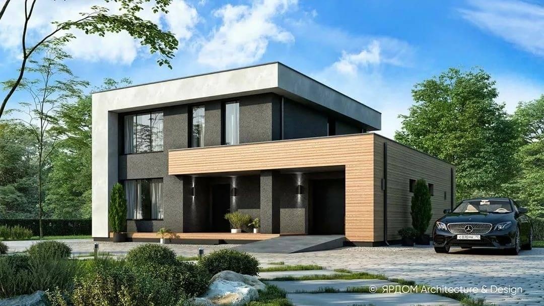 Проекты домов с плоской крышей: их особенности и разновидности, плюсы и минусы, нюансы выбора