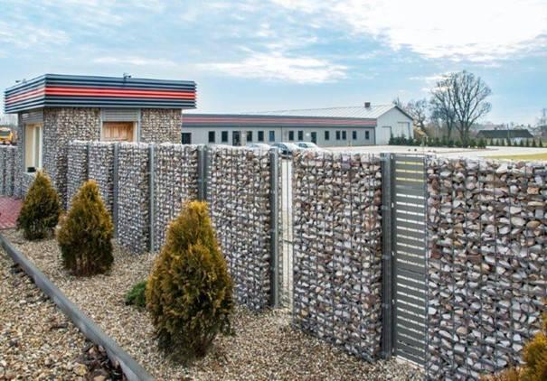 Забор из габионов – особенности и преимущества