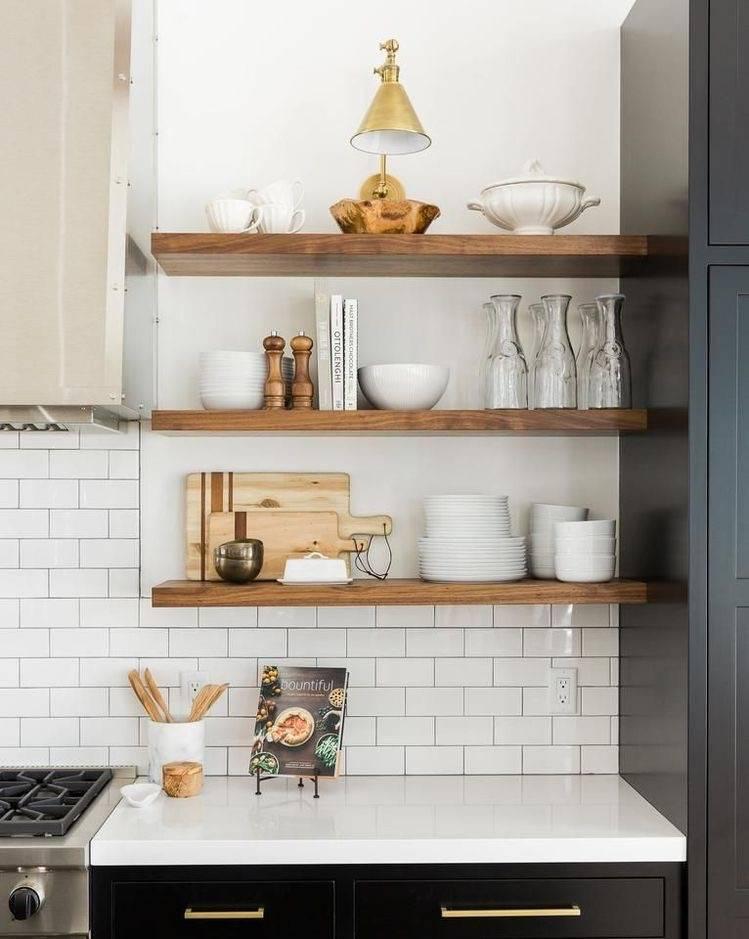Мастерим полки для кухни – более 50 идей и инструкции (фото, видео)