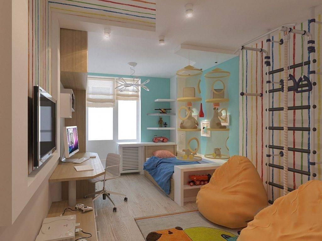 Детская комната 12 кв м: варианты дизайна для девочек и мальчиков, фото интерьеров