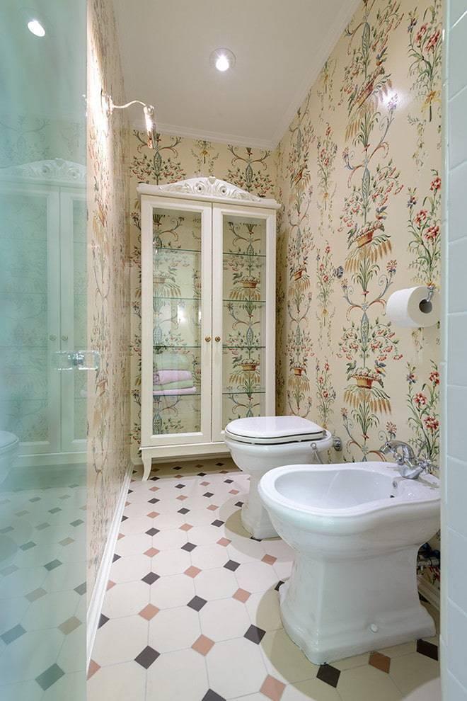 Напольная плитка для туалета (26 фото): советы по выбору и укладке мозаики на пол