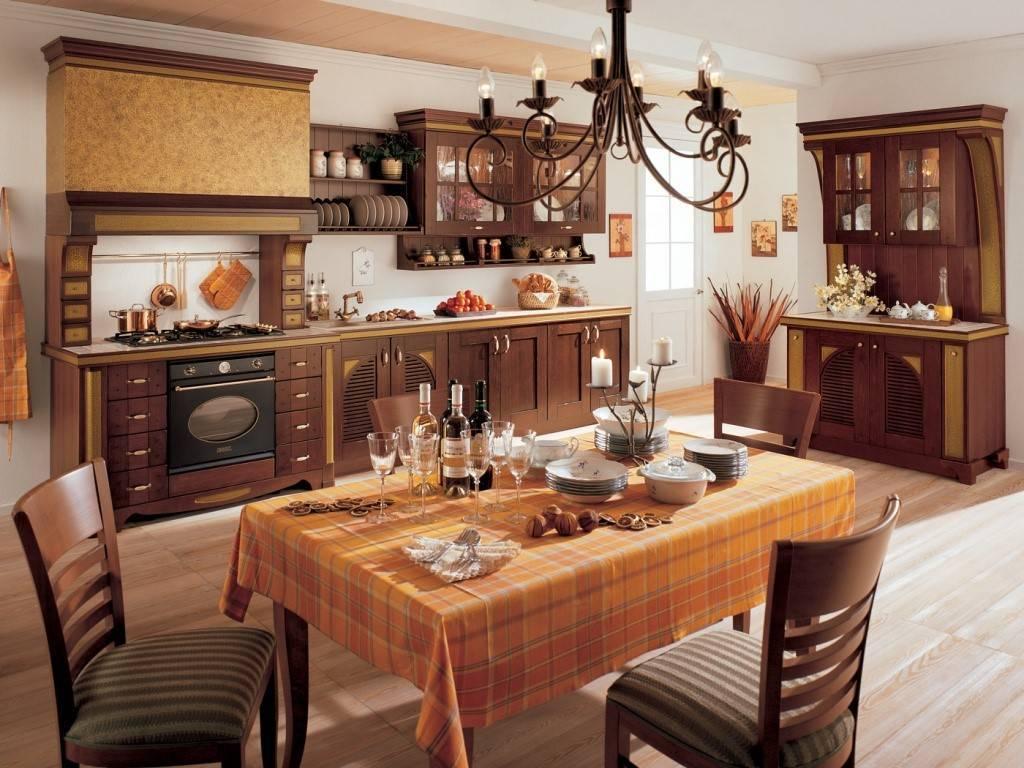 Интерьер кухни в частном доме - 75 фото продуманных проектов в интерьере дома