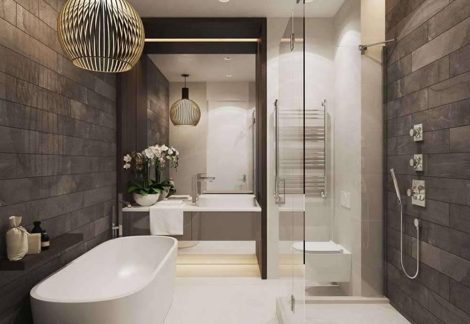 Современный дизайн ванной комнаты 3 кв. м.: 115 фото лучших идей и актуальных сочетаний