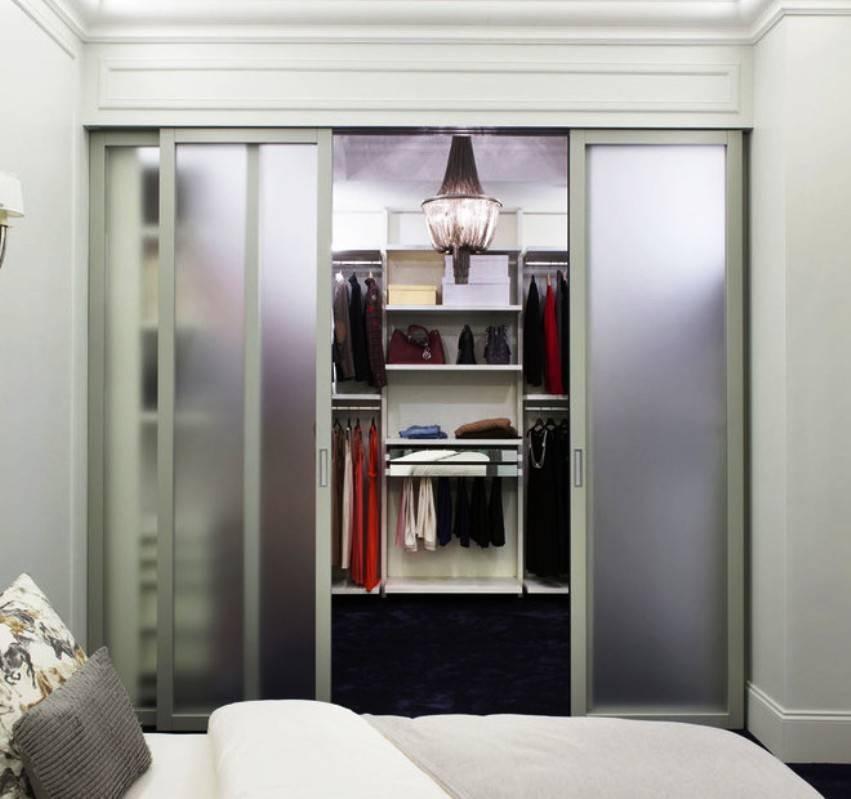 Гардеробная в спальне: фото-инструкции обустройства готовых интерьеров
