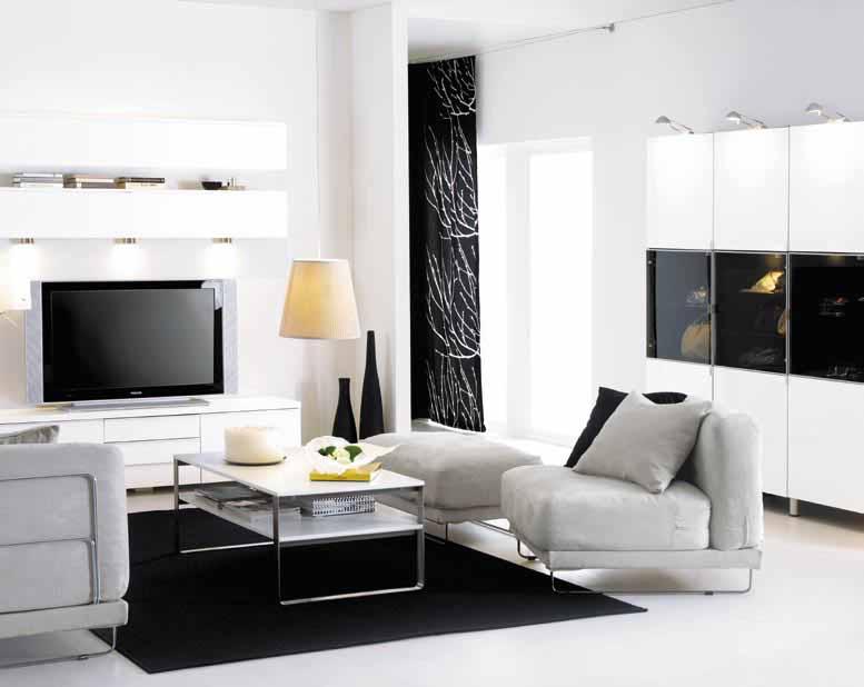 Легкость и функциональность – гостиная в стиле модерн