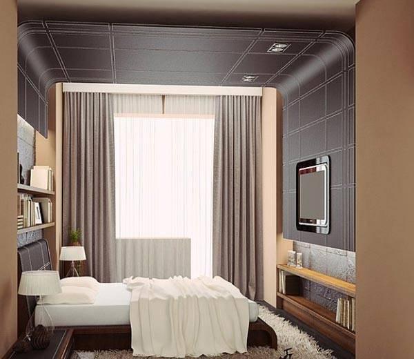 Дизайн маленькой спальни 6 кв. м (105 фото): оформление интерьера и планировка комнаты 2х3 метра и 7 м2, как обставить спальню с окном