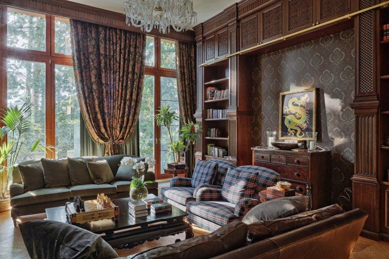 Английский стиль в интерьере (78 фото): строительство домов в британском стиле, классические английские обои для комнаты и шкафы, кровати и кресла