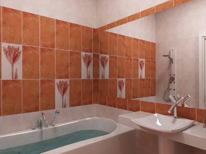 30 вариантов укладки плитки в ванной