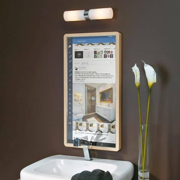 Зеркало в ванную – особенности оформления и лучшие декоративные идеи 2020 (110 фото)