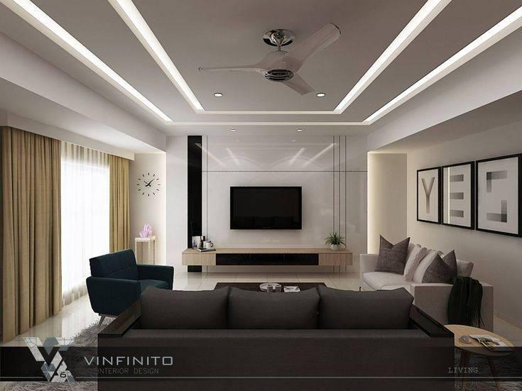 Особенности выбора гипсокартона для потолков в гостиную комнату