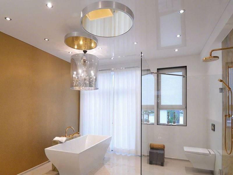 Как выбрать точечные светильники для натяжного потолка?