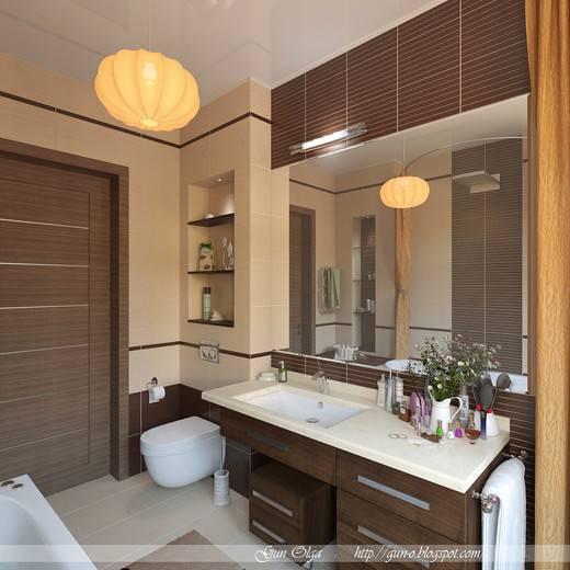 Спа-эффект бежевой ванной - 89 фото примеров