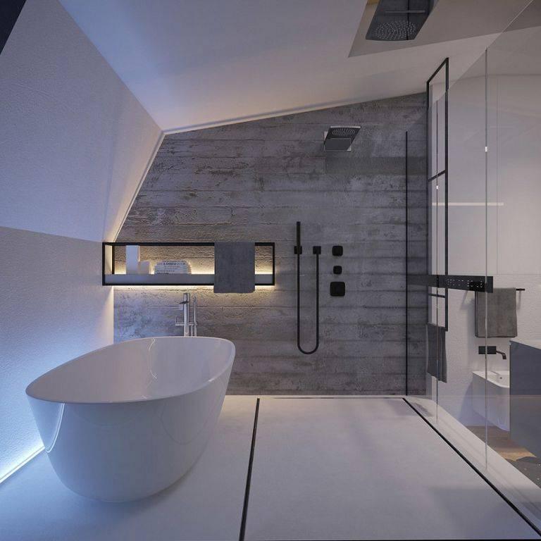 Особенности оформления ванных комнат в различных стилях