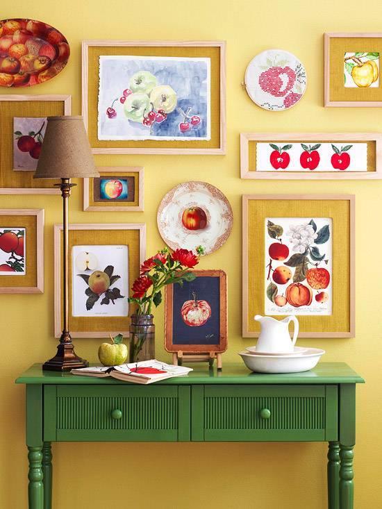 Картины своими руками для интерьера (15 фото)