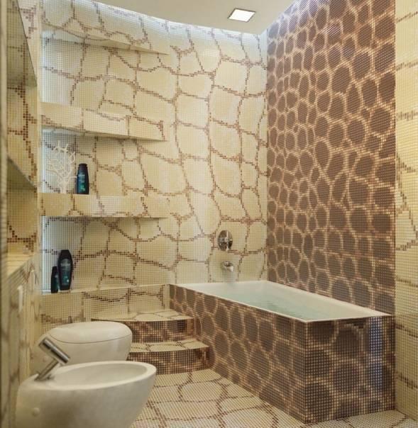Отделка ванной комнаты плиткой: особенности и варианты дизайна