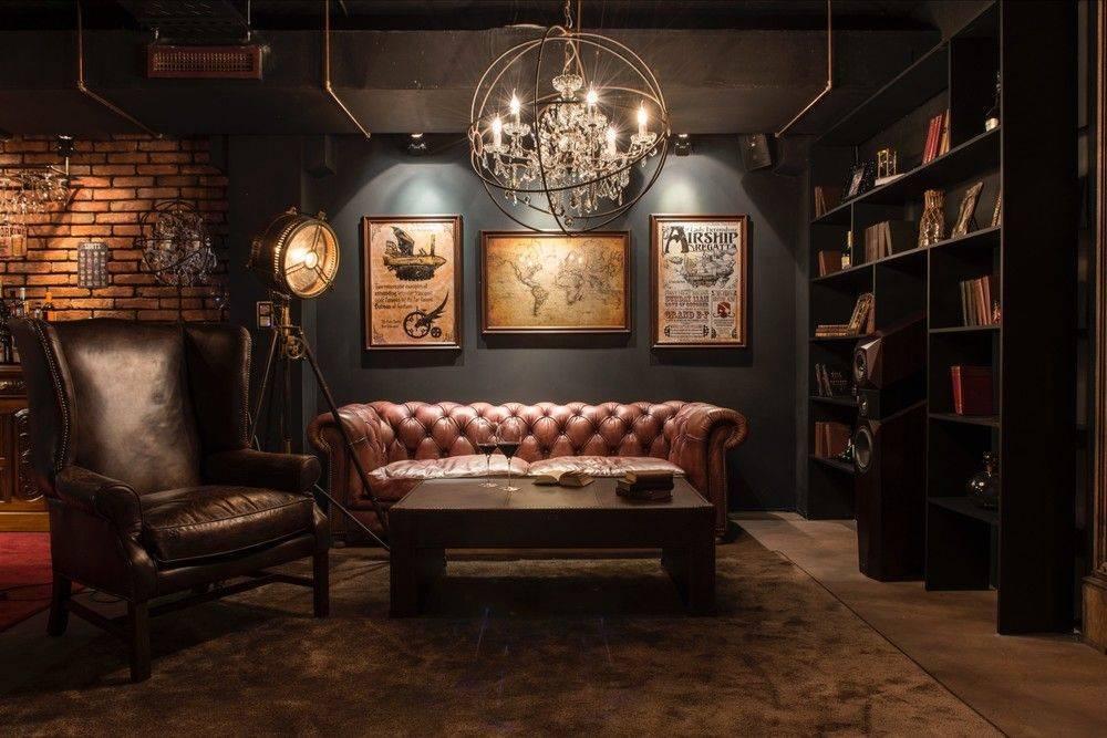 Стиль стимпанк в интерьере квартиры - фото и советы по дизайну
