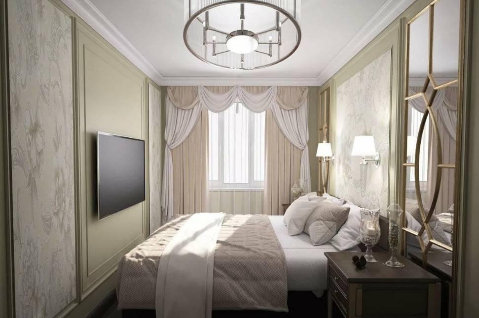 Дизайн спальни 19-20 кв. м (72 фото): интерьер комнаты с гардеробной и балконом 5 на 4 метра, планировка прямоугольной и других спален в современном стиле