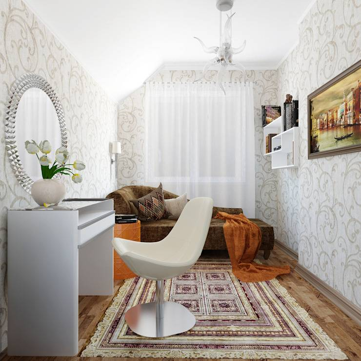 Как выбрать обои для узкой комнаты или длинного коридора?
