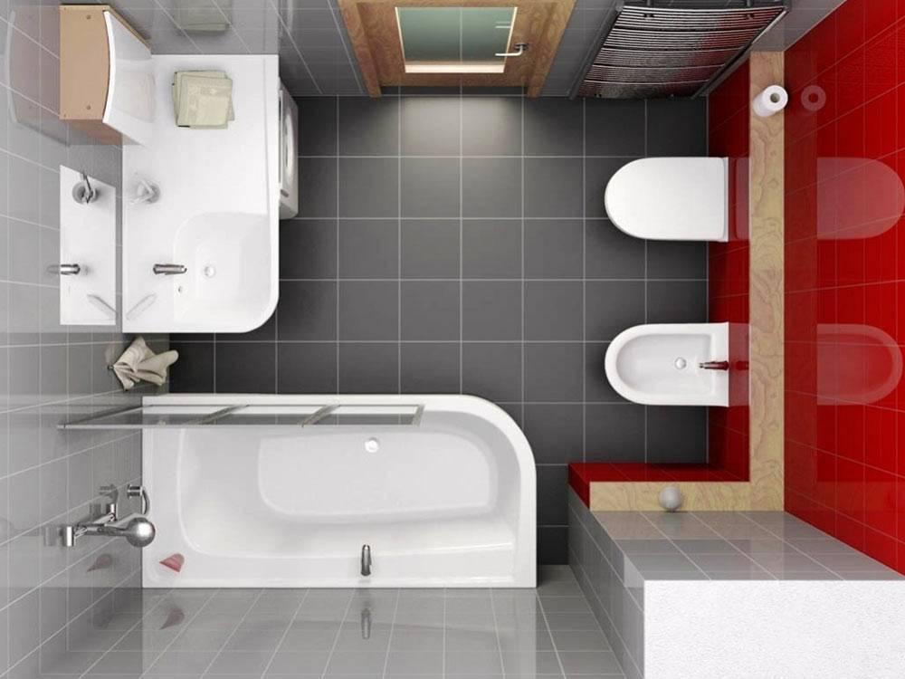 Ванная 5 кв. м. - 145 фото создания грамотного и простого дизайна