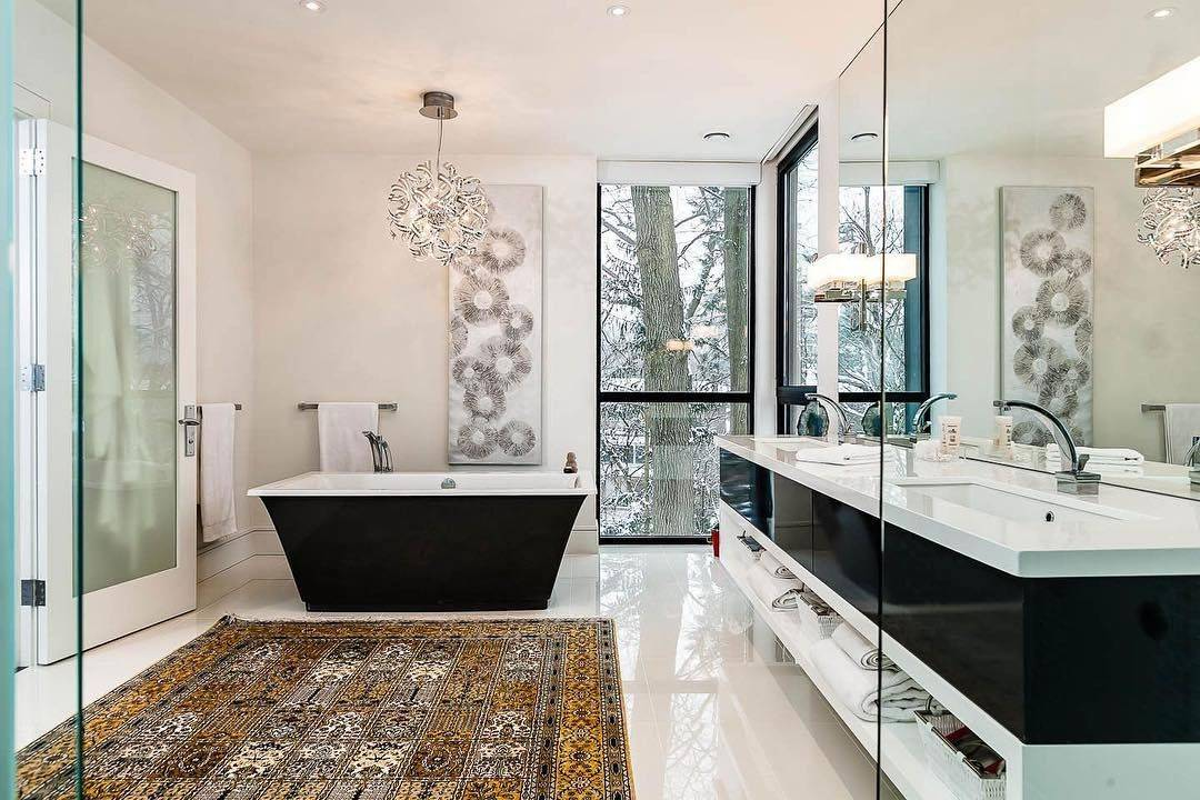 Дизайн ванной комнаты 2019: свежие идеи и тренды