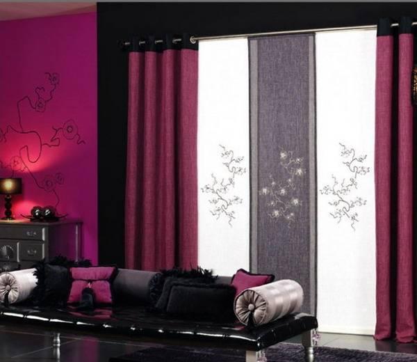 Украшаем комнату шторами: как выбрать стильное, красивое и уютное оформление для гостиной