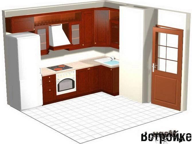 Кухня п44т с эркером: особенности дизайна в домах данной серии, выбор дивана