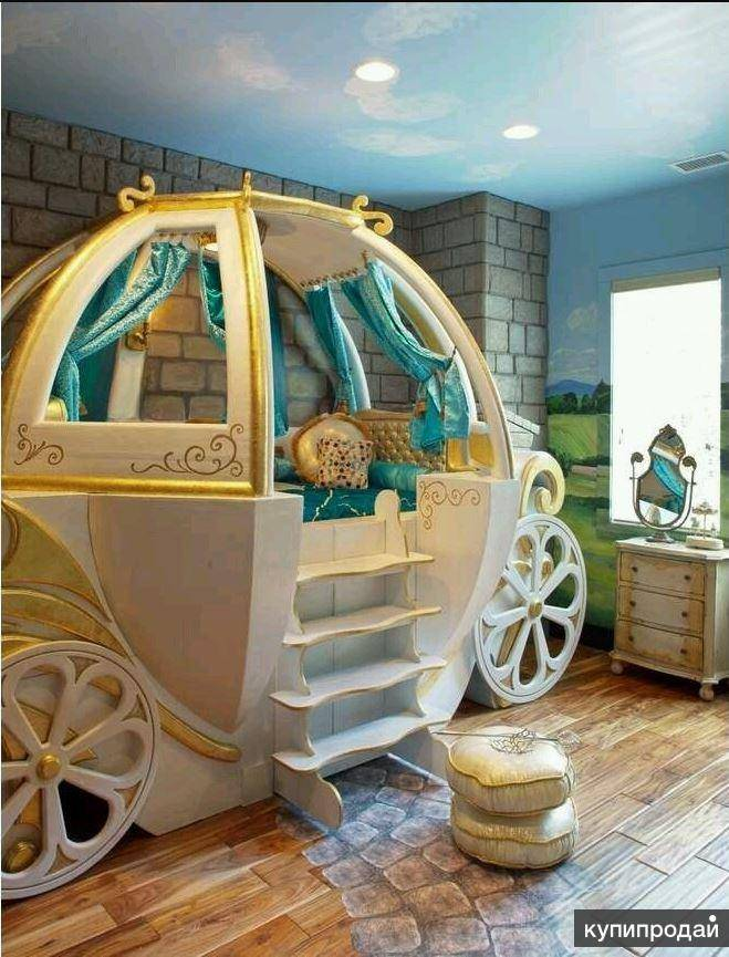 Примеры дизайна необычных кроватей для детей